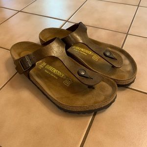 Birkenstock Gizeh brown worn only 3 times!!!